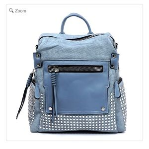 Handbags - NEW Fashion Studded Convertible Backpack